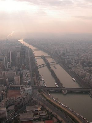 Paris im Februar