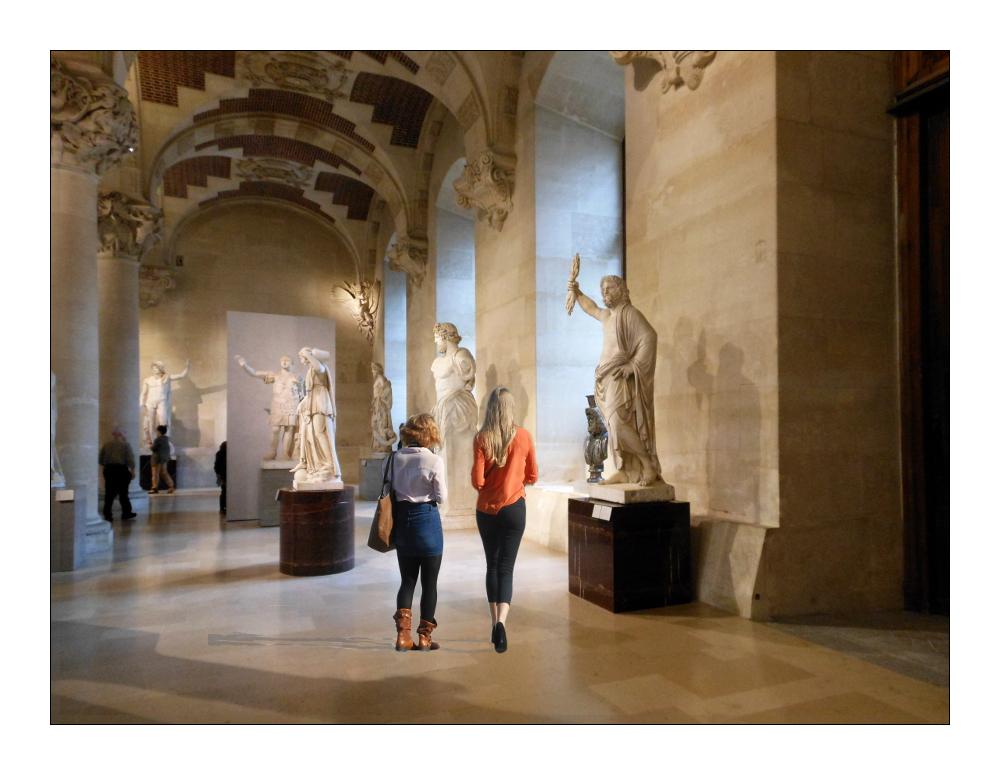 Paris: im Louvre