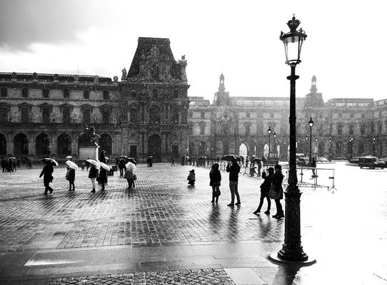 Paris im Winter
