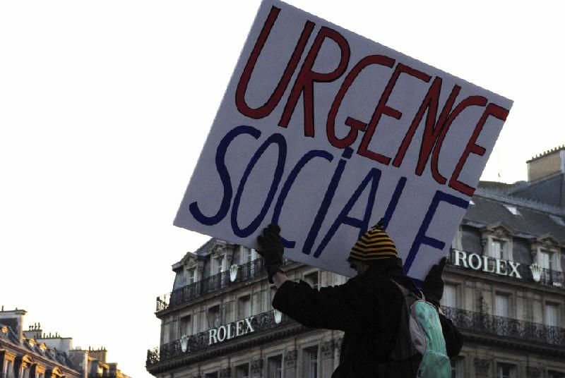 Paris janvier 2009 Urgence Sociale
