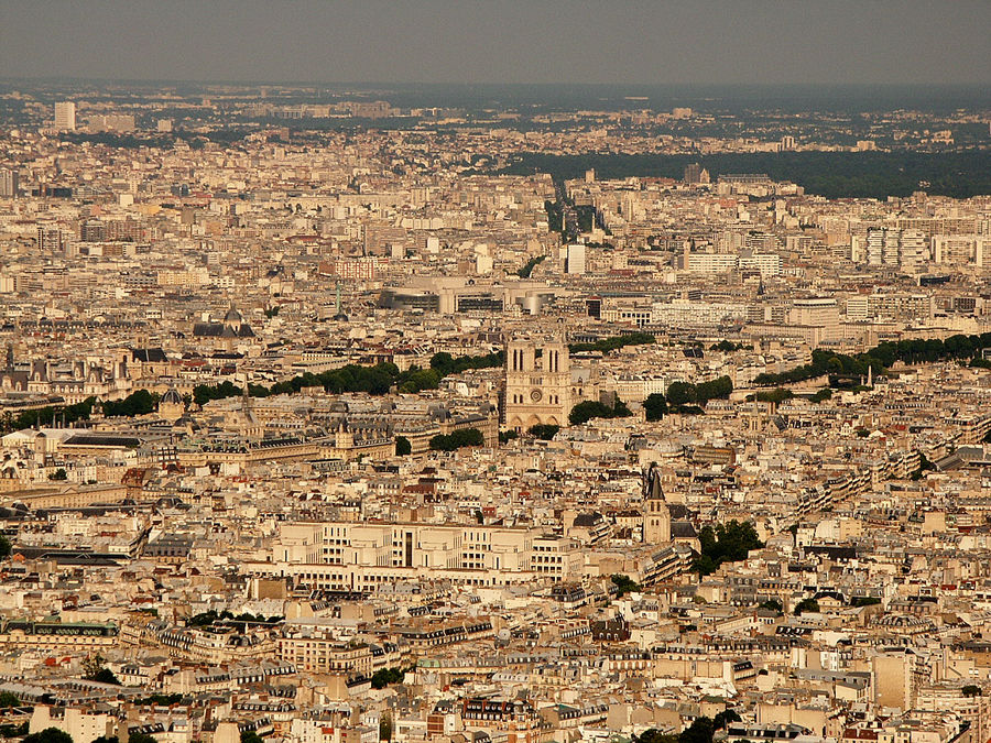 Paris, la aguja y el pajar...