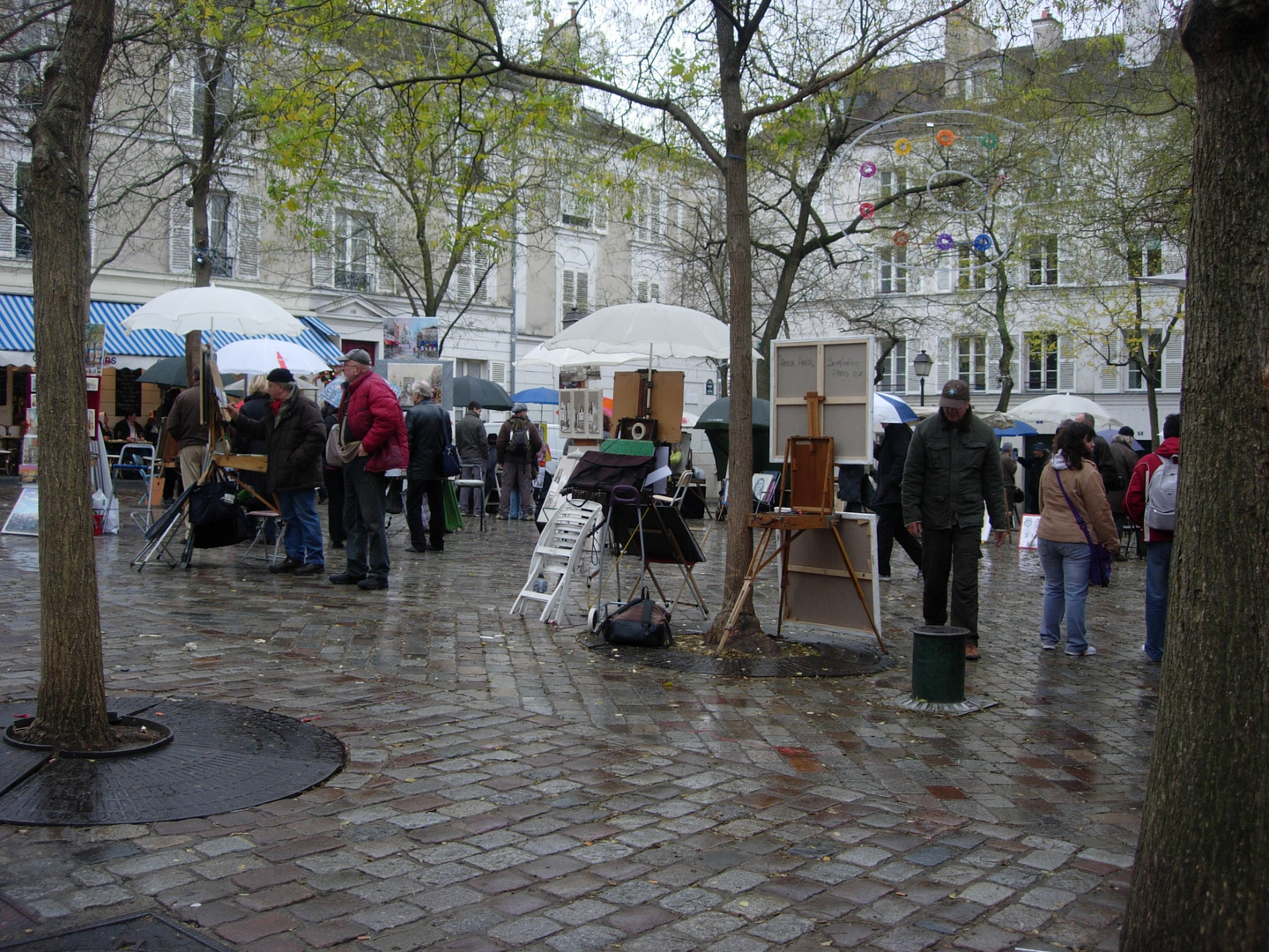 "PARIS "" La Place du Tertre """