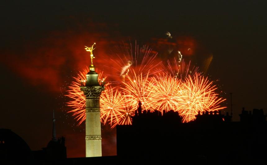 Paris le 14 juillet