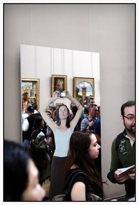 Paris, Le Louvre, Michelangelo Pistoletto (2) 2013