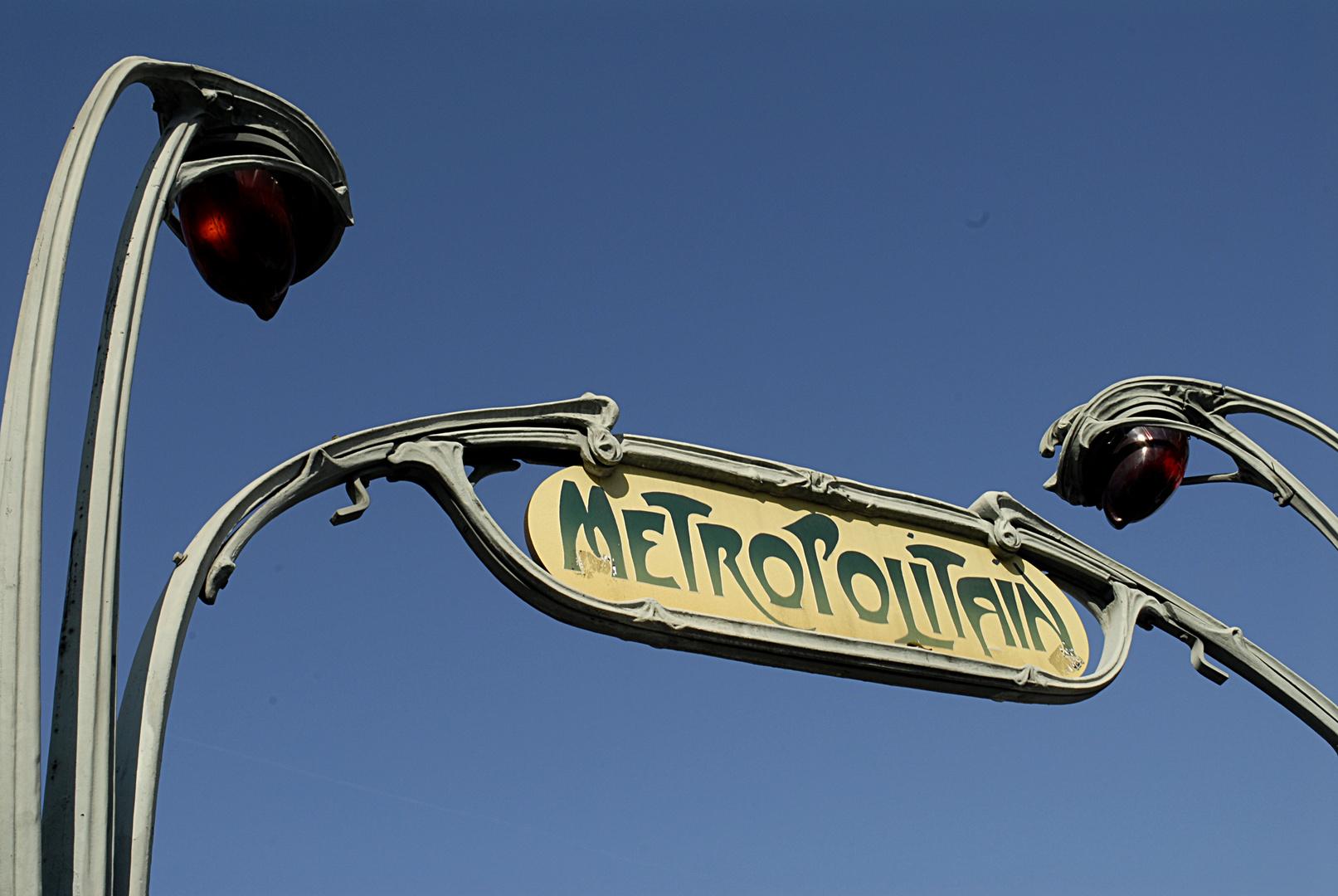 Paris. Metro