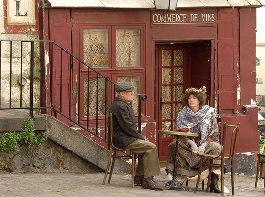 """PARIS Montmartre 2005 """"Figurants"""""""