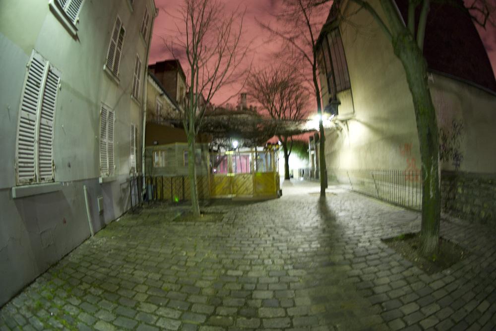 Paris, montmartre tôt 2