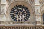 Paris: Notre-Dame, westliche Fensterrose (unbearbeitet)