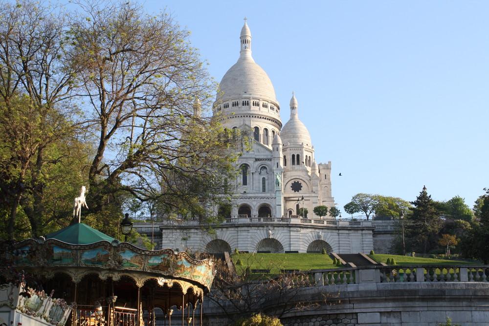 Paris Paris/ Sacre- Coeur
