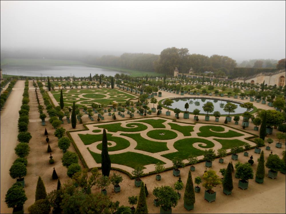 Paris; Park von Versailles