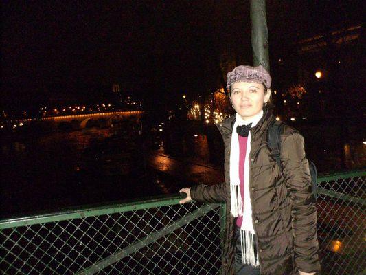 Paris pendant la nuit