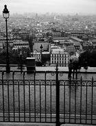 Paris Scape - Sacre Coeur top
