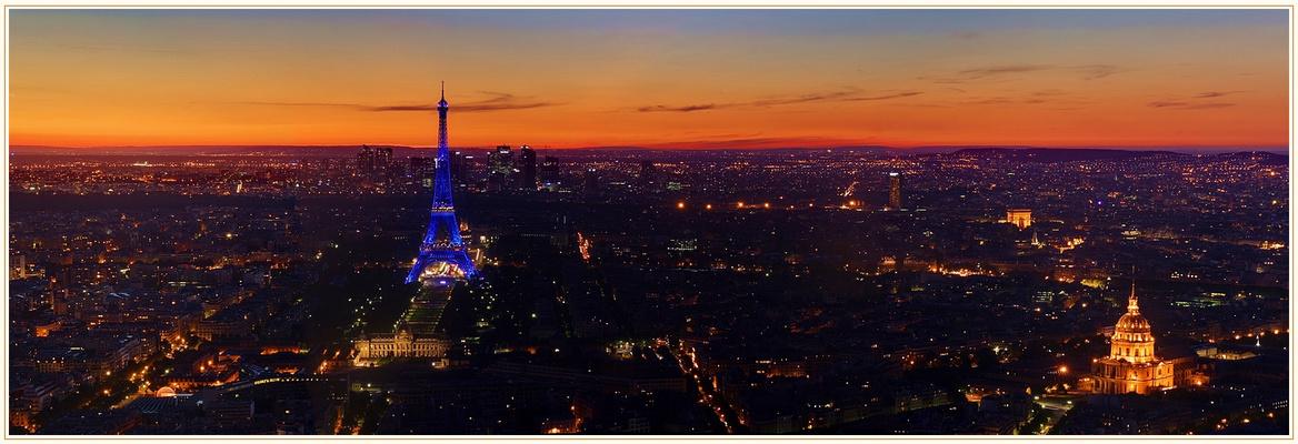 Paris se couche...
