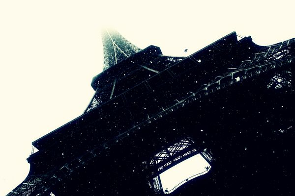 Paris & Snow ©èk KA