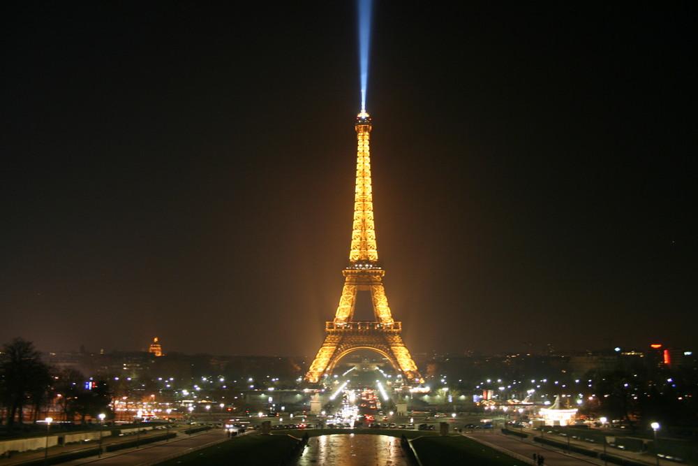 PARIS soir d'hiver
