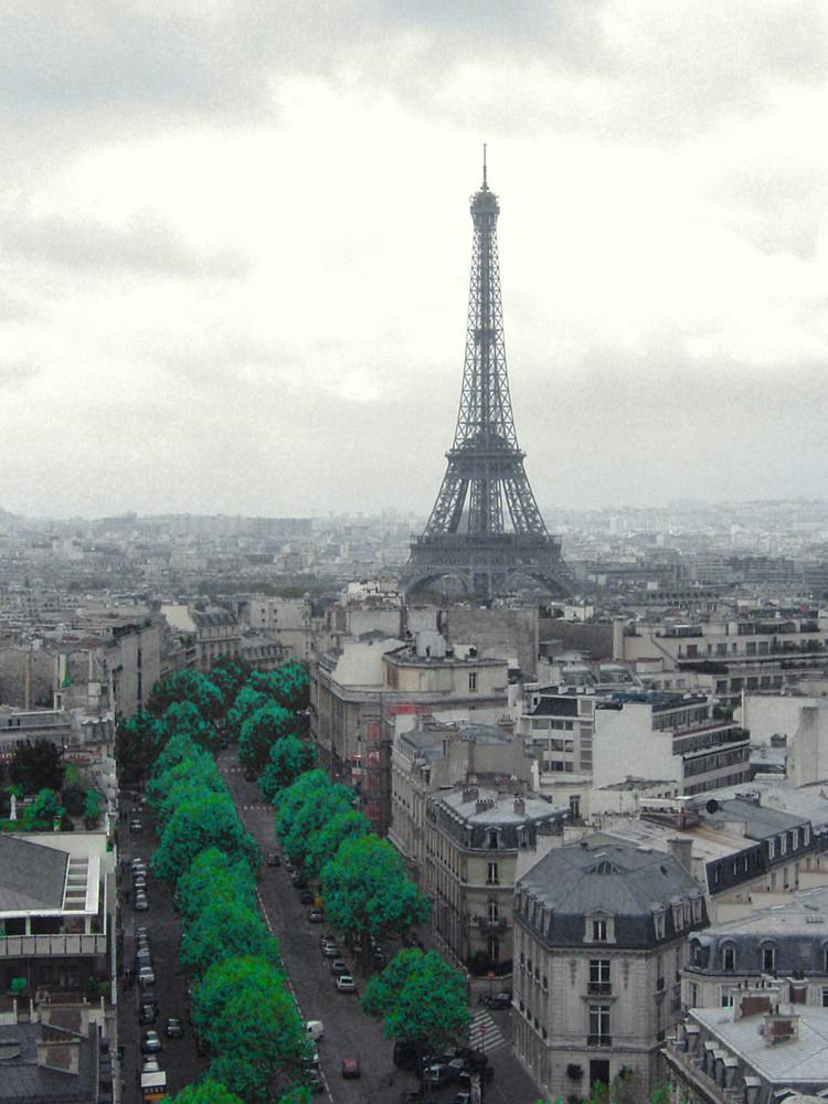 Paris sous la grisaille...