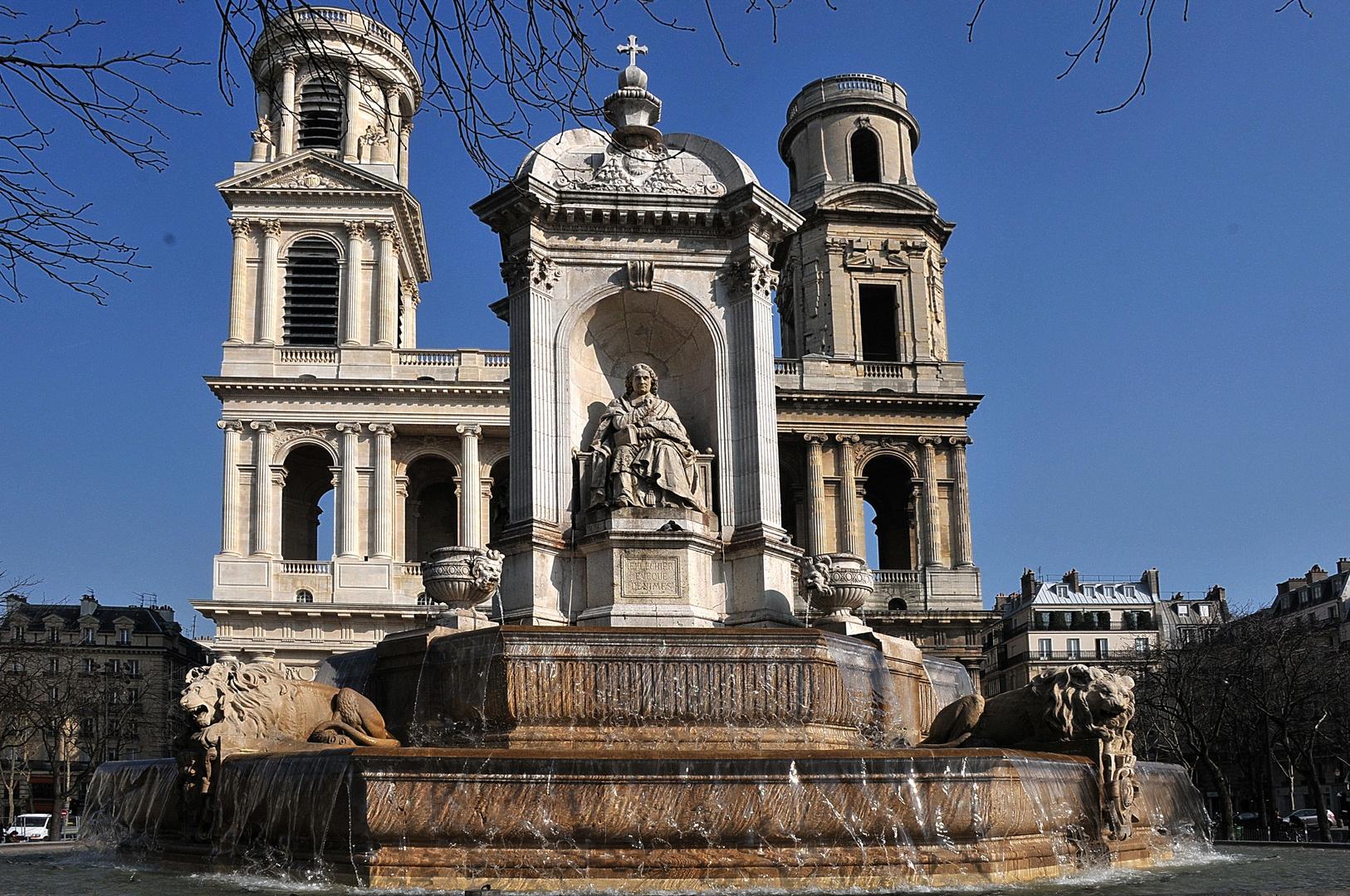 Paris St Sulplice Mars 2011