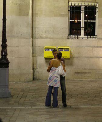 Paris-Stadt der Liebe