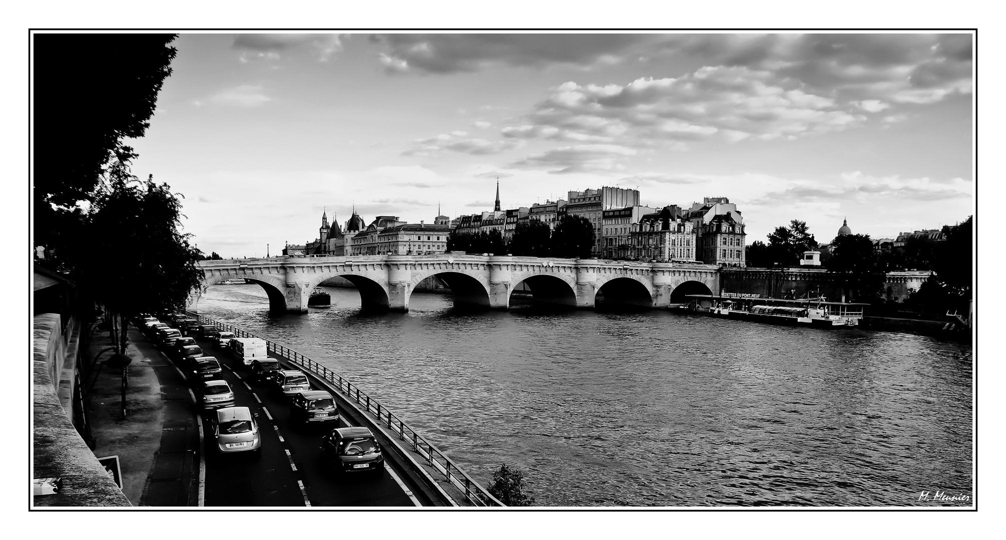 PARIS sur les bords de Seine