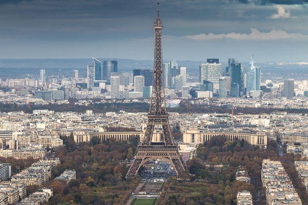 Paris touristique et Paris d'affaires