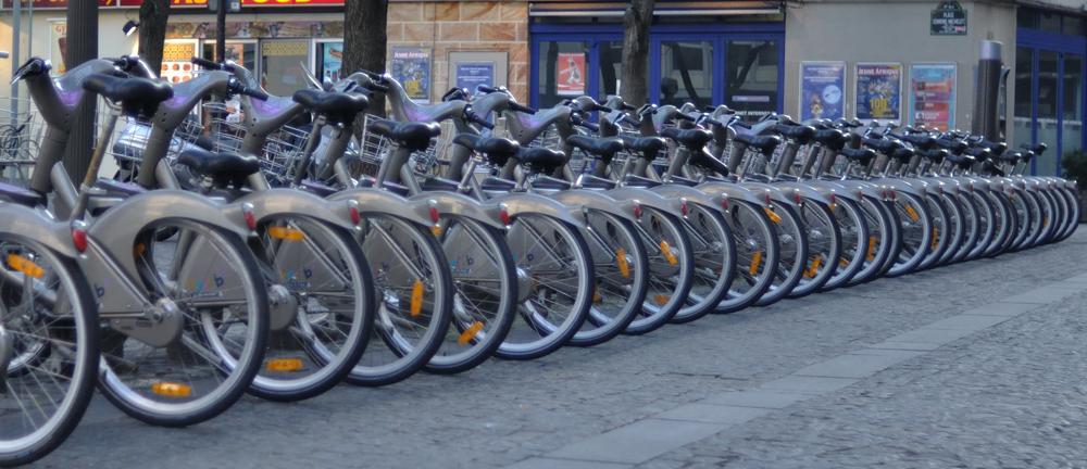 Paris vélib