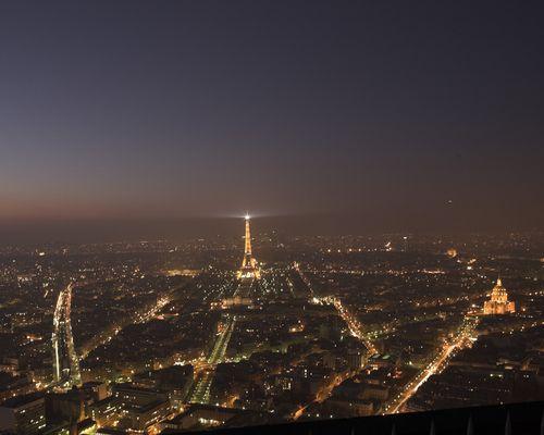 Paris vom Montparnasse Hochhaus