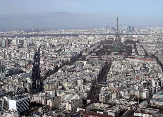 Paris vom TOUR-MONTPARNASSE