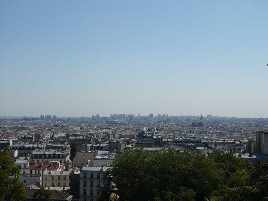 Paris vu de Montmartre