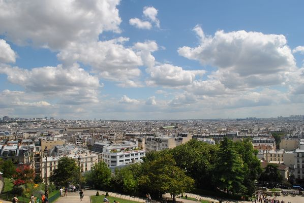 Paris vue de Montmartre !!