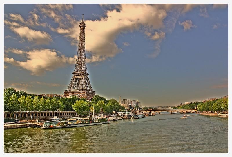 Paris : Vue du pont