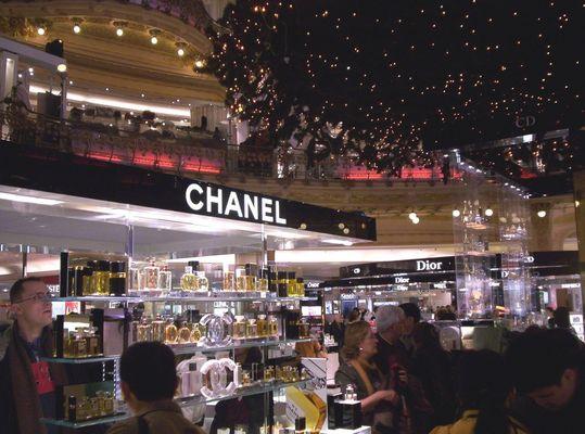 Paris - Weihnachtsstress