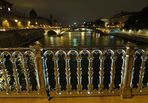 Pariser Brücken bei Nacht