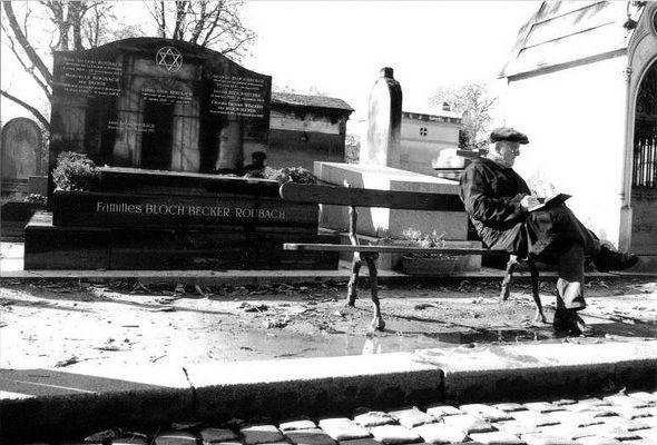 Pariser Friedhofsidylle