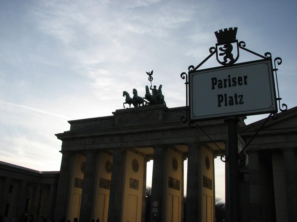 Pariser Platz, Berlin, Deutschland