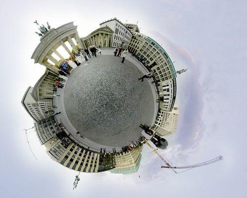 Pariser Platz Kugelpanorama