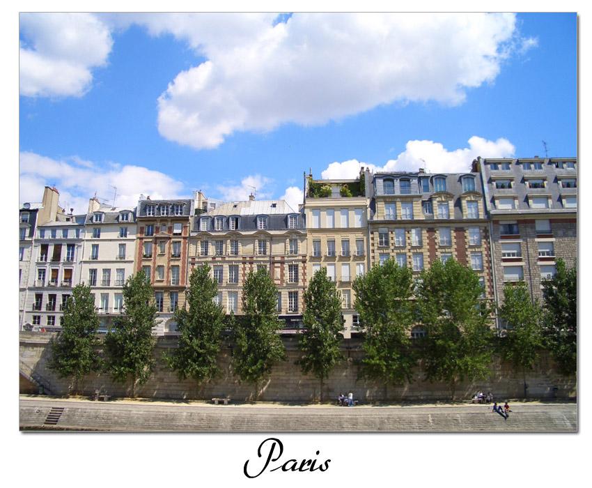 Pariser Straßenzug