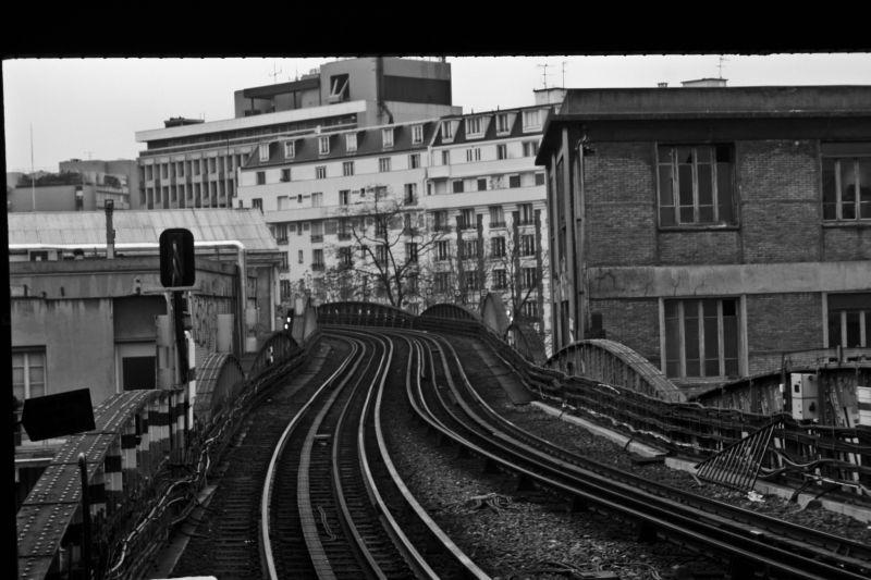 Parisien urban railway