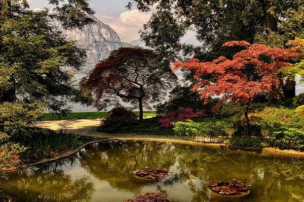 Park der Villa Melzi