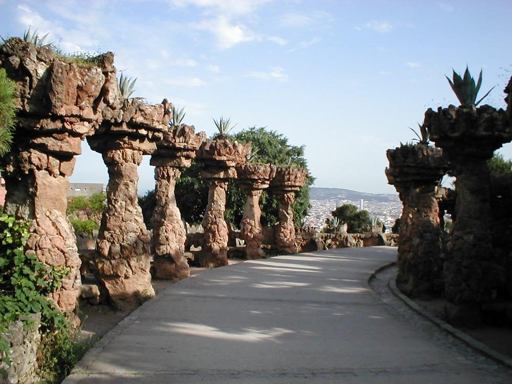 Park Guel in Barcelona