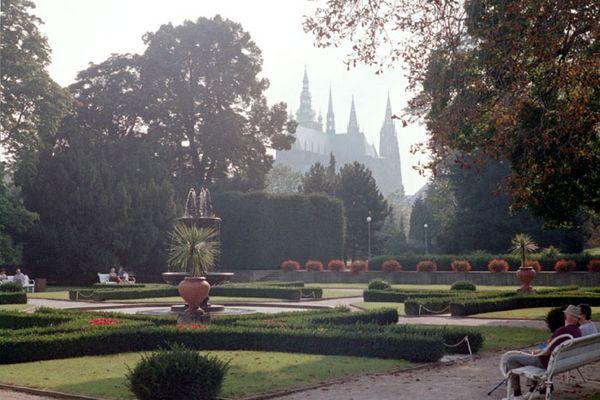 Park in Prag
