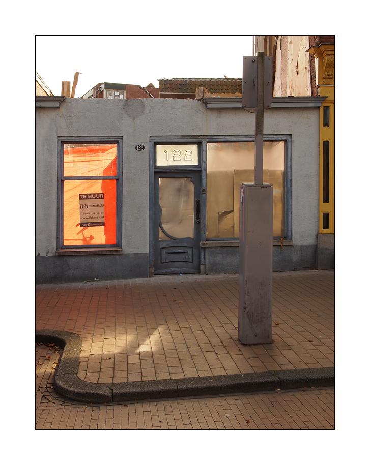 Parkautomat vor der Tür