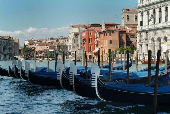 """""""Parkbucht"""" Venedig Ende August 2004"""