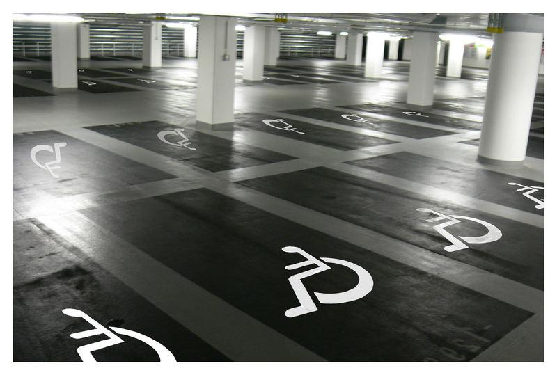 Parken nur für ...