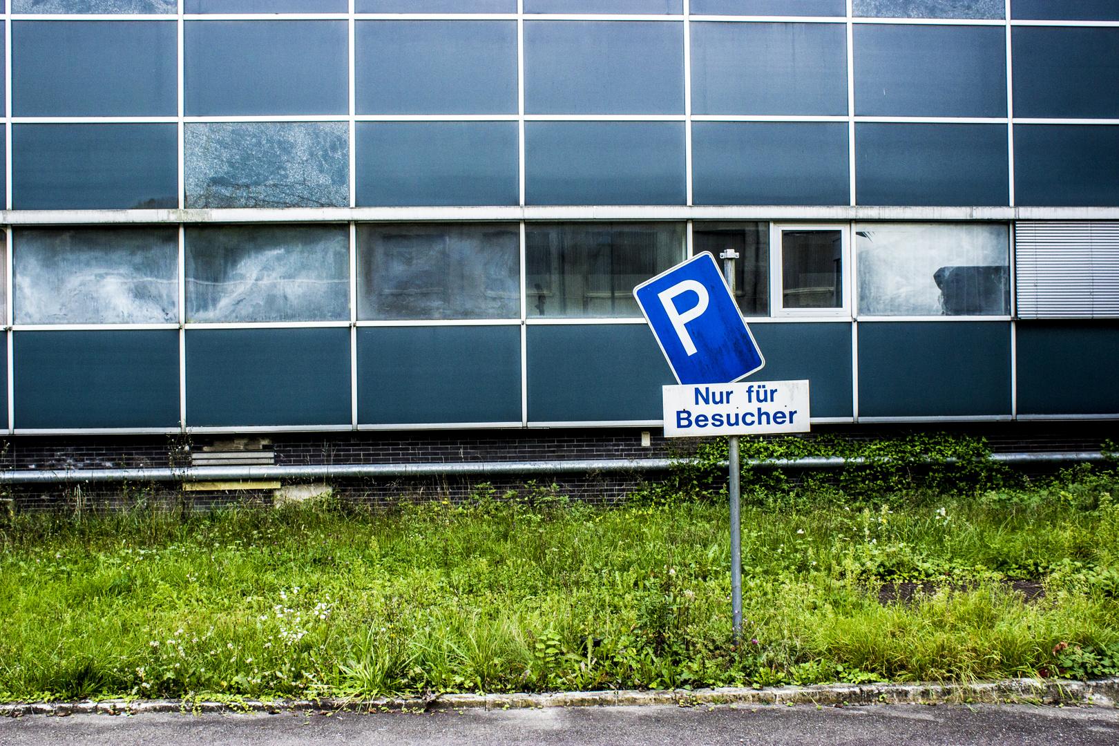 Parken nur für Besucher