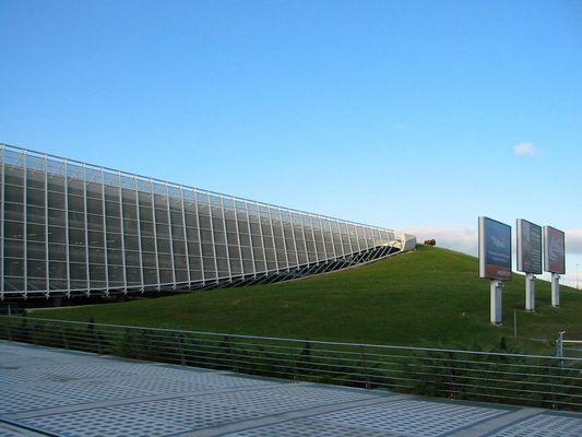 Parkhaus am Airport Bilbao