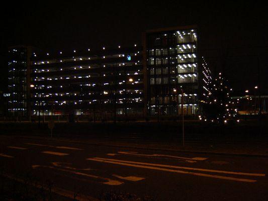 Parkhaus am Bremer Flughafen