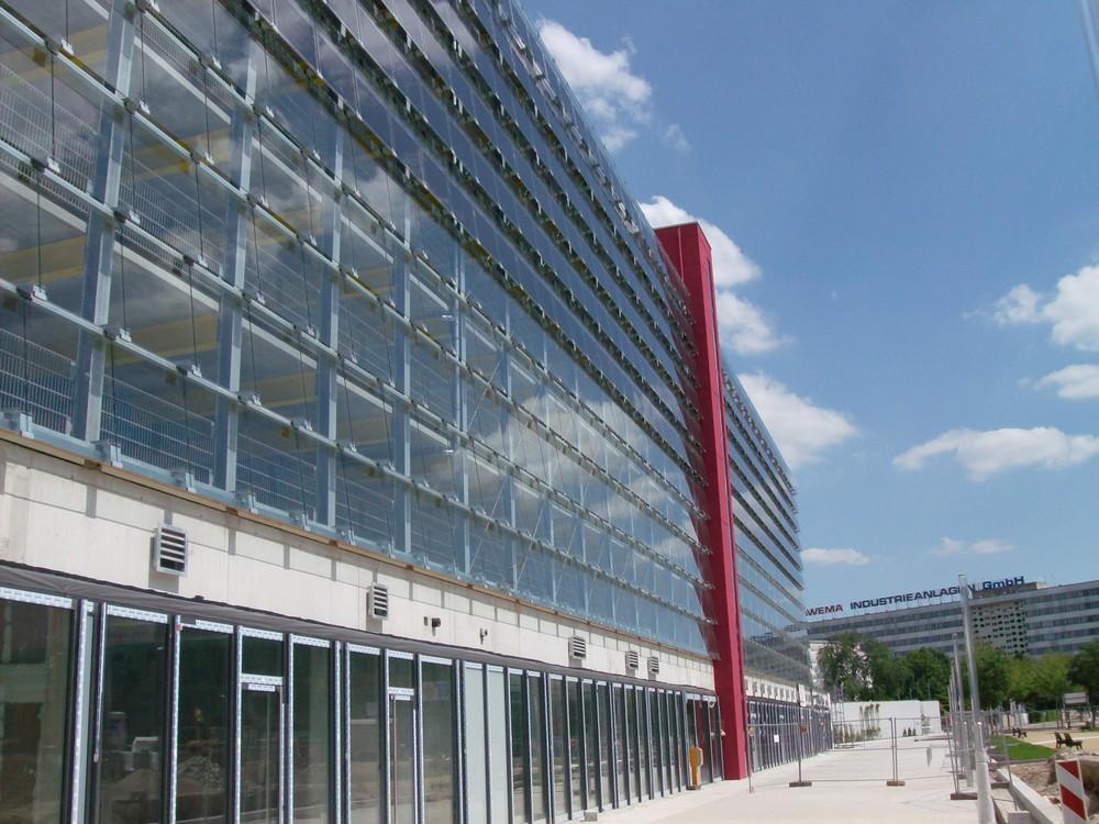 Parkhaus in Chemnitz
