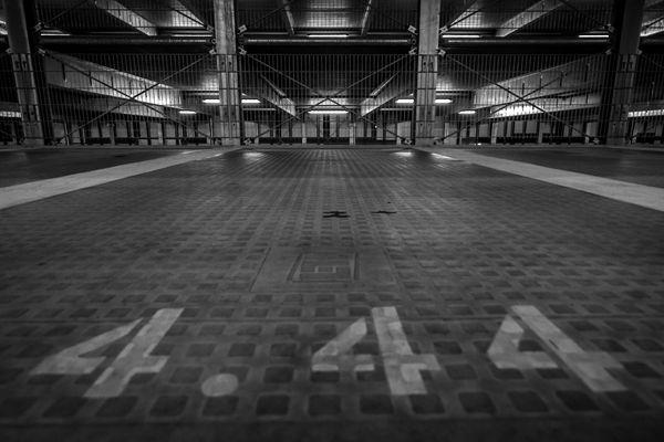 Parkhaus-Stellplatz