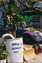 Parking for Elephants only