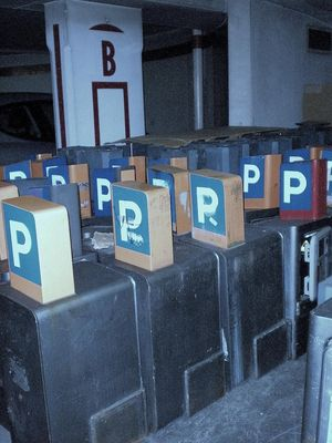 Parkings payants .